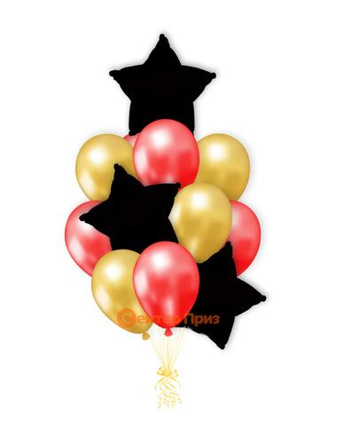 «Букет шаров №1» — шары с гелием. 15 шт.