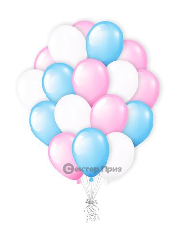«Букет шаров №2» — шары с гелием. 28 шт.