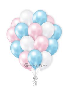 «Букет шаров №3» — шары с гелием. 21 шт.