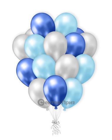«Букет шаров №5» — шары с гелием. 21 шт.