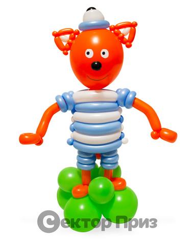 Фигура из шаров «Котенок Коржик»