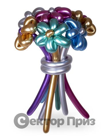 «Букет ромашек №1» — 7 цветов из шаров