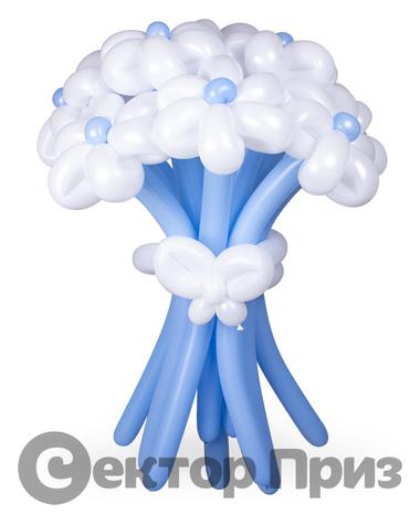 «Букет ромашек №2» — 11 цветов из шаров