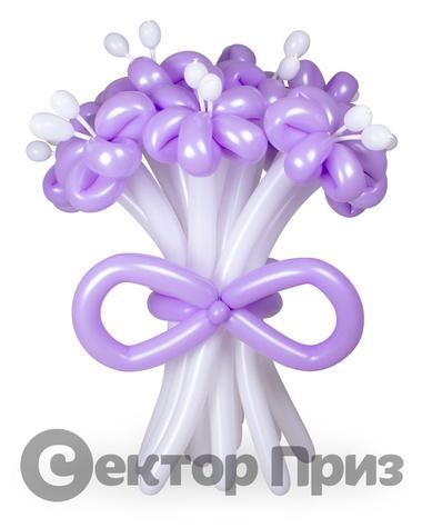 «Букет ромашек №3» — 11 цветов из шаров