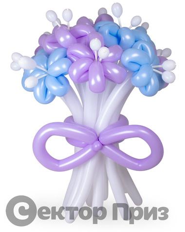 «Букет ромашек №4» — 11 цветов из шаров