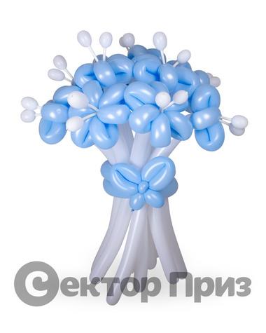 «Букет ромашек №5» — 11 цветов из шаров