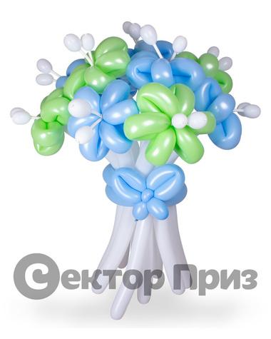 «Букет ромашек №6» — 11 цветов из шаров