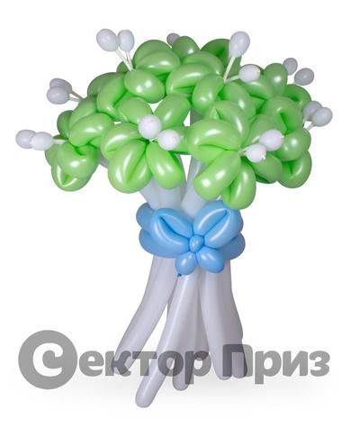 «Букет ромашек №7» — 11 цветов из шаров
