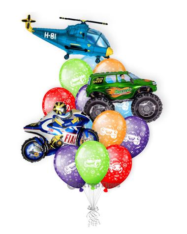 «Букет шаров № 8» — шары с гелием. 25 шт.