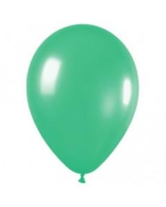 Шар с воздухом зеленый, 30 см. (030)