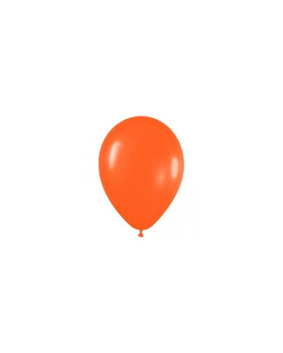 Шар с воздухом оранжевый, 30 см. (061)