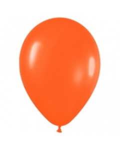 Шары ненадутые, Шар с воздухом оранжевый, 30 см. (061)