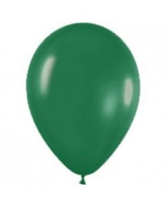 Шары ненадутые, Шар с воздухом темно-зеленый, 30 см. (032)