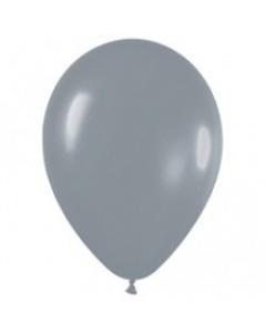 Шары ненадутые, Шар с воздухом серый, 30 см. (081)