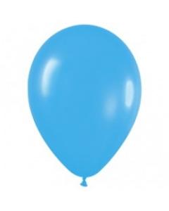 Магазин необычных подарков, Шар с воздухом голубой, 30 см. (040)