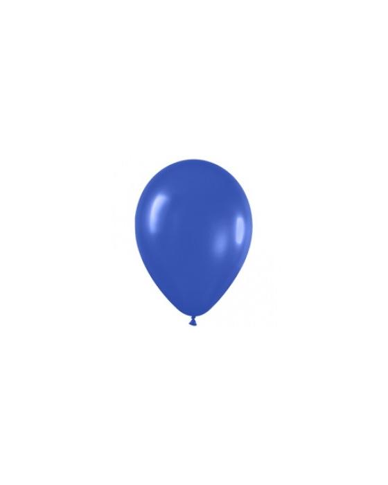 Шар с воздухом синий, 30 см. (041)