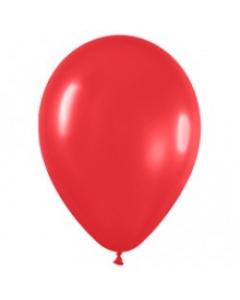 Шары ненадутые, Шар с воздухом красный, 30 см. (015)