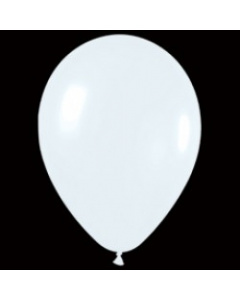 Шары ненадутые, Шар с воздухом белый, 30 см. (005)