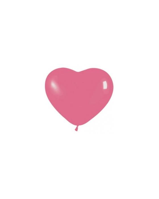 Шар с воздухом сердце, 30 см. (012)