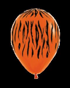 Шары ненадутые, Шар с воздухом тигр, 30 см.