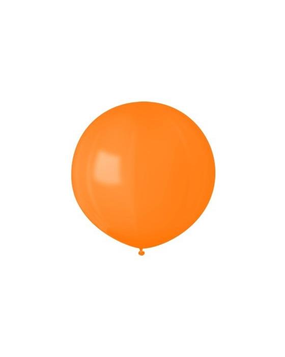 Шар с воздухом оранжевый, 91 см. (061)