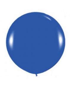 Шары ненадутые, Шар с воздухом синий, 91 см. (041)