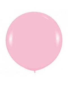 Магазин необычных подарков, Шар с воздухом розовый, 91 см. (009)