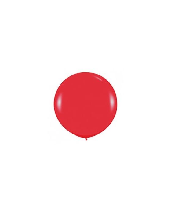 Шар с воздухом красный, 91 см. (015)