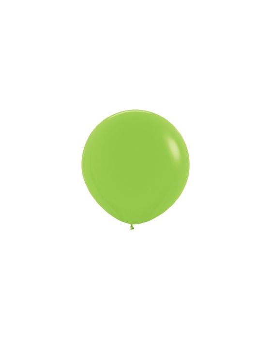 Шар с воздухом зеленый, 91 см.