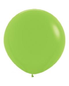 Шары ненадутые, Шар с воздухом зеленый, 91 см.