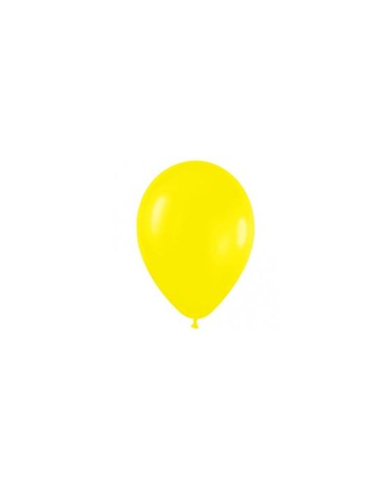 Шар с воздухом желтый, 13 см. (020)