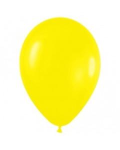 Шары ненадутые, Шар с воздухом желтый, 13 см. (020)