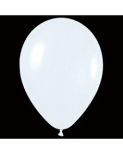 Шары ненадутые, Шар с воздухом белый, 13 см. (005)