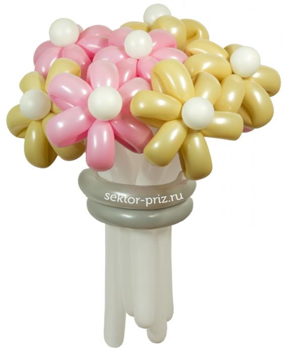 «Свадебный» — 11 цветов из шаров