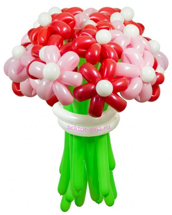«Карамельный» — 23 цветка из шаров