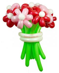 Букеты из воздушных шаров, «Карамельный» — 9 цветов из шаров