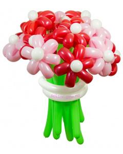 «Карамельный» — 15 цветов из шаров