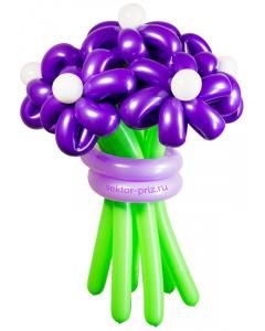 Букеты из воздушных шаров, «Дежавю» — 7 цветов из шаров