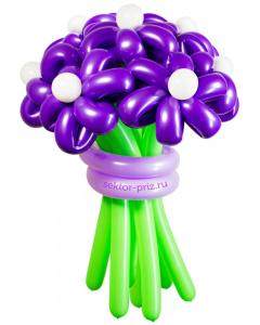 Букеты из воздушных шаров, «Дежавю» — 9 цветов из шаров