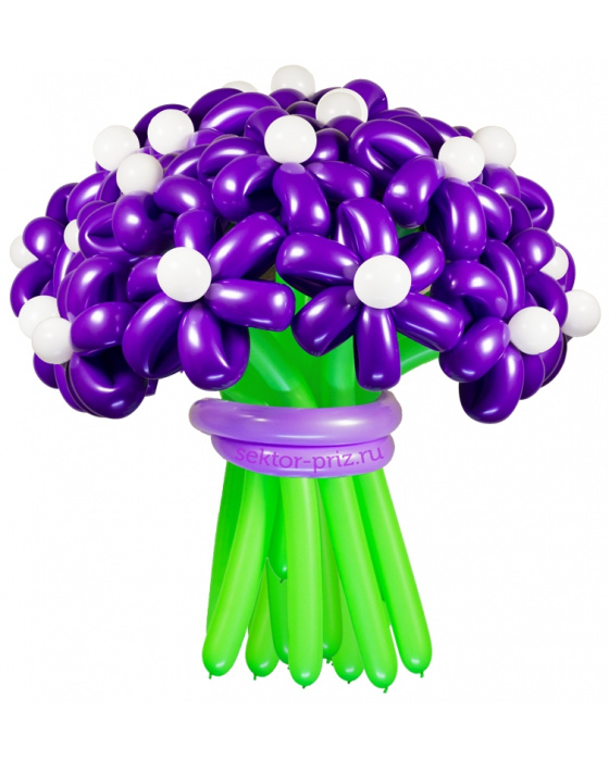 Букеты из воздушных шаров, «Дежавю» — 23 цветка из шаров