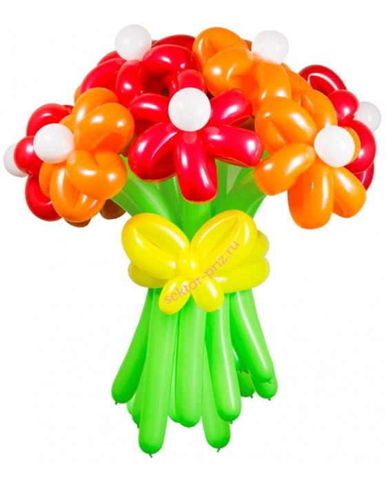 «Соблазн» — 15 цветов из шаров