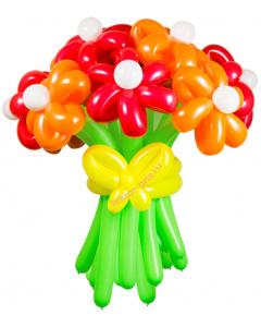Букеты из воздушных шаров, «Соблазн» — 13 цветов из шаров