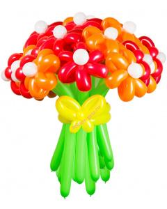 Букеты из воздушных шаров, «Соблазн» — 23 цветка из шаров