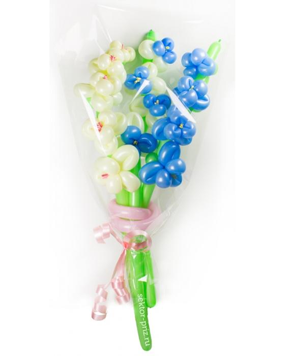 «Гладиолусы» — 3 цветов из шаров