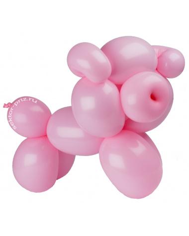 Фигуры из воздушных шаров, Фигура из шаров «Хрюшка»
