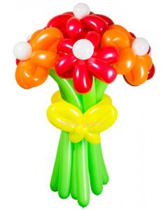 Букеты из воздушных шаров, «Соблазн» — 7 цветов из шаров