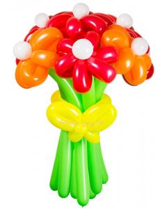 Букеты из воздушных шаров, «Соблазн» — 9 цветов из шаров