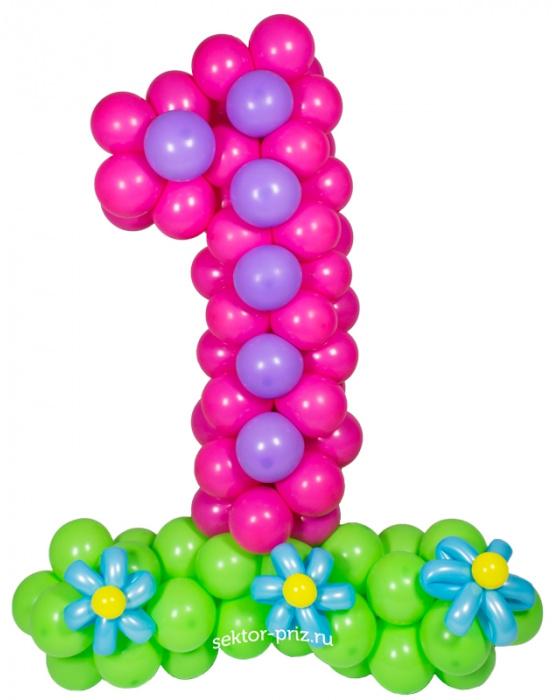 Фигура из шаров «Цифра»