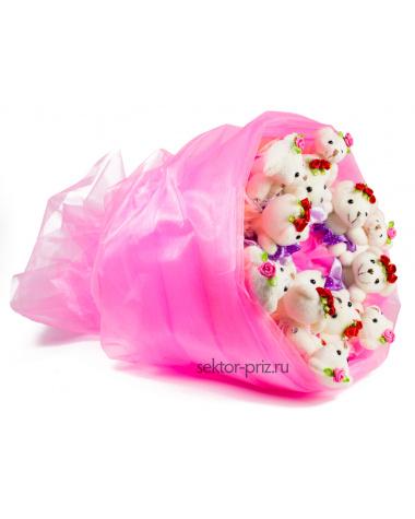 Букет из игрушек «Нежность»